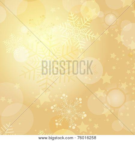 Christmas Gold Frame