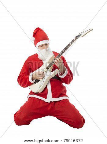 Christmas Male Guitarist