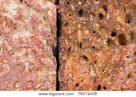 Texture Of Brown Stone