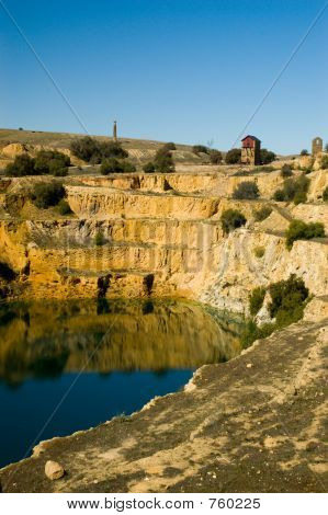 Burra Mine (Portrait)