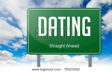 Dating on Highway Signpost.