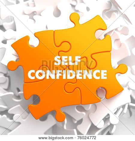 Self Confidence on Yellow Puzzle.