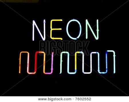 Neon Multicolor Sign