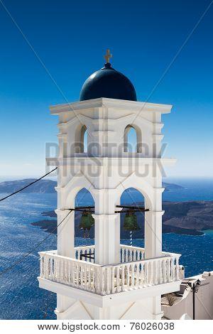 Bell Tower Of Imerovigli