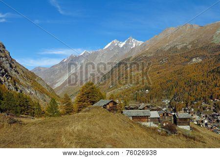 Herbrigg, Little Settlement Above Zermatt