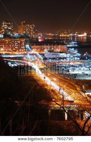 Urban City Street View
