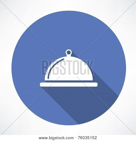 dish with lid icon