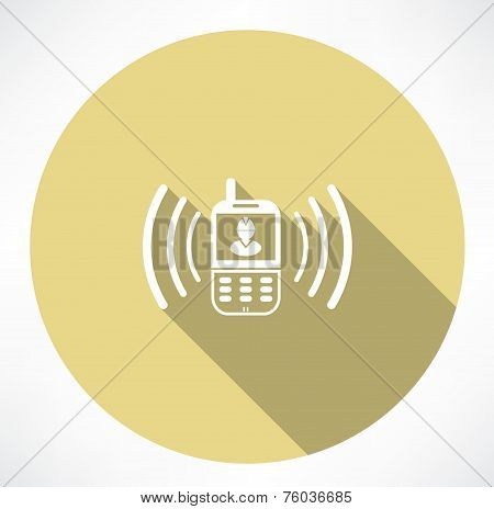 Building company contact icon