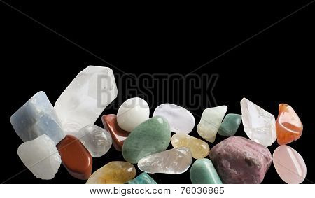 Semi-precious gemstones margin