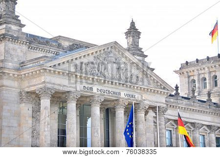 German Parliament or Bundestag