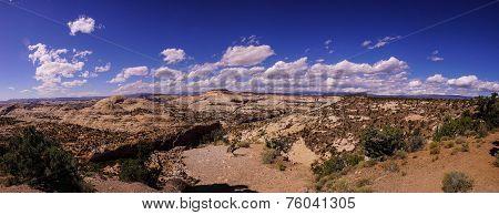 Panorama, Badlands