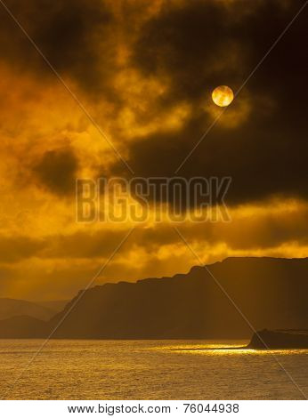 Sunset On The Dorset Coast