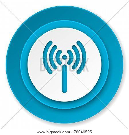 wi-fi icon, wireless network sign
