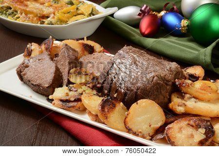 Christmas Roast Beef