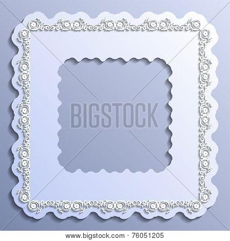 Vector Vintage Paper Frame
