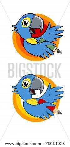 Parrot toon