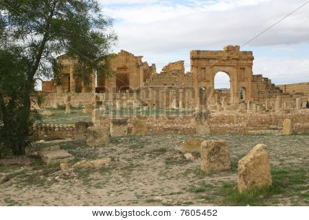 The Ruined City of Sufetula