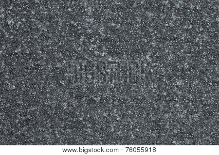 Texture Fleecy Jersey Of Dark Silvery-gray Color