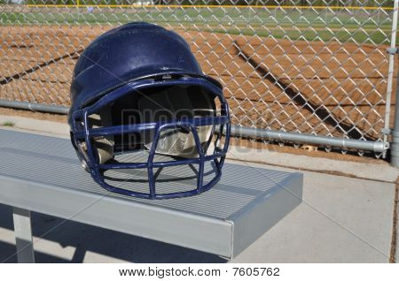 Blue Baseball Helmet