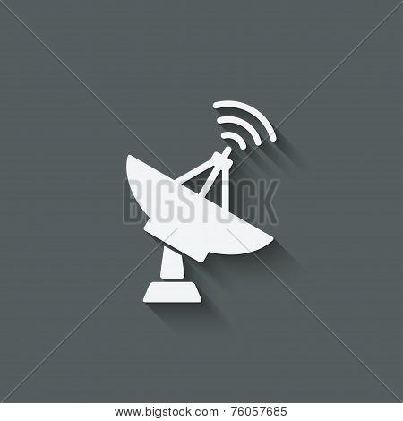 parabolic antenna symbol