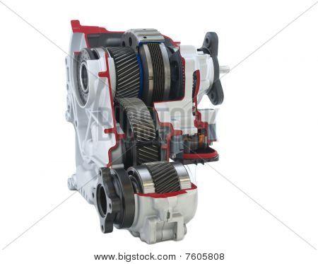 Car parts: active transfer case