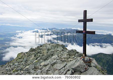 National Mountain Peak Of Slovakia