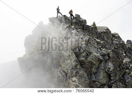 Danger Peak Of Mountain
