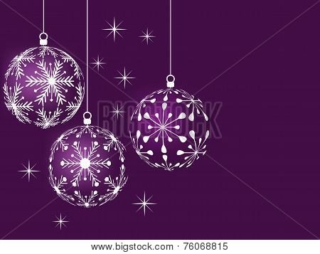 lilac christmas background