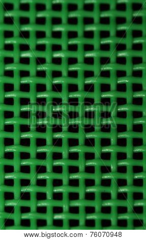 Abstract green grid background