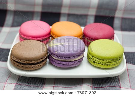 French Macaroon.