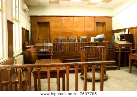 Sala do Tribunal