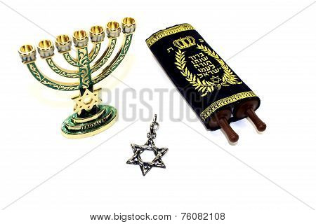 Torah With Menorah