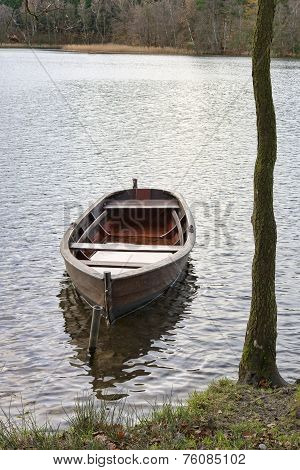 Dinghy At The Lake