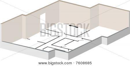 Floorplan 3D Structure.