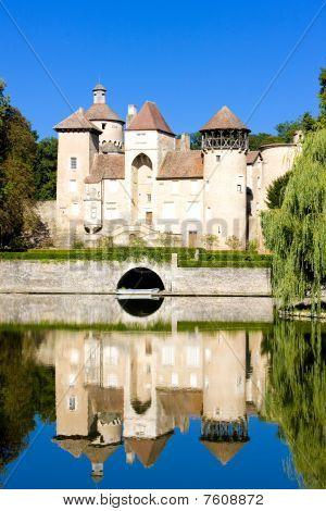 Sercy Castle Burgundy France