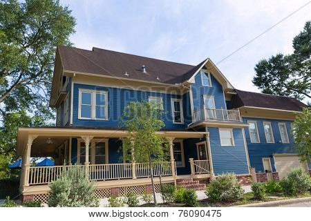 Houston Heights Blvd townhouses in Texas US USA