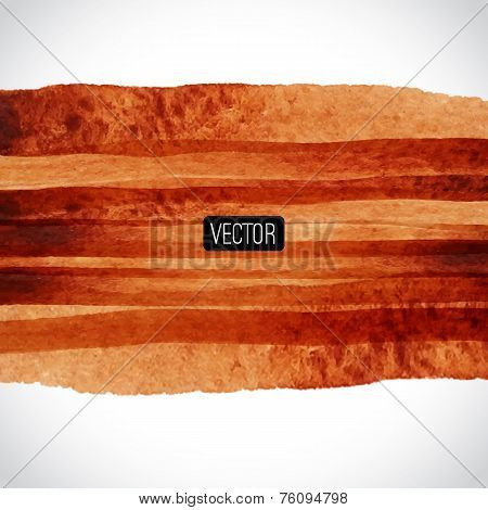 Abstract Vector Watercolor Background. Watercolor Texture. Water