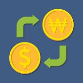image of won  - Currency exchange - JPG