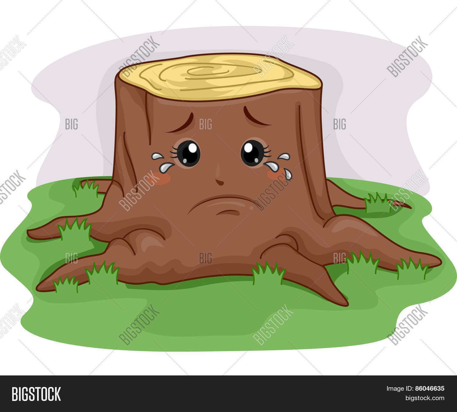 mascot illustration tree stump vector   photo bigstock Black and White Clip Art Tree Stump tree stump clipart images