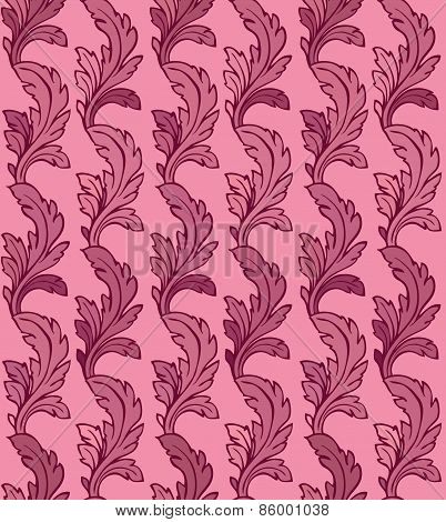 Vector Ornament Seamless Pattern.