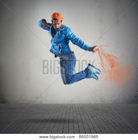Jump and color
