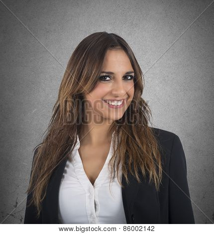 Employed businesswoman
