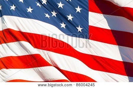 American Textile Flag