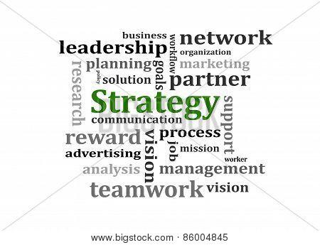 Strategy Management Concept
