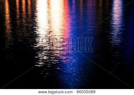 Colorful Water Reflections