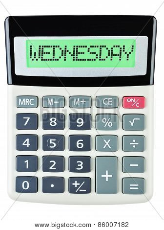 Calculator With Wednesday