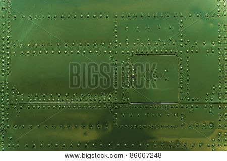 Rivets And Metal Background