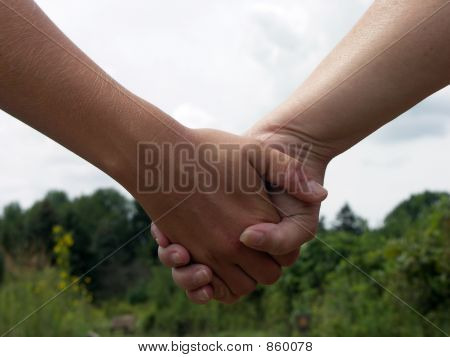 Holding Hands, Touching Hearts