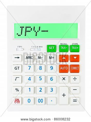 Calculator With Jpy