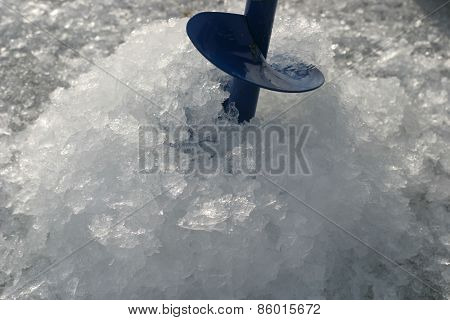 Ice Drill In The Hole